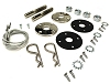 "1970 1971 1972 1973 1974 Plymouth Cuda Hood Pin Kit with 23"" Cables"