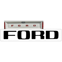 1980-86 Ford F150 - F350 Tailgate Letter Decal Set - STYLESIDE